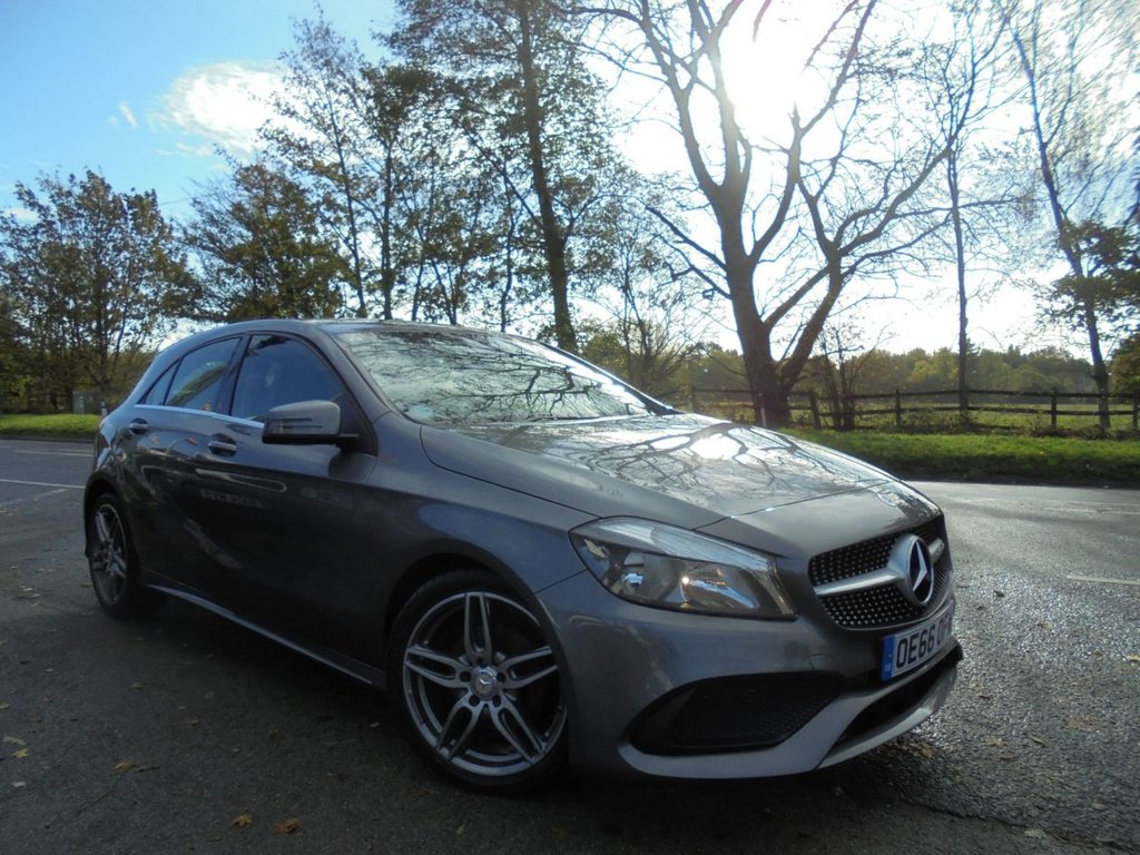 USED 2016 66 MERCEDES-BENZ A-CLASS 1.5 A 180 D AMG LINE 5d 107 BHP