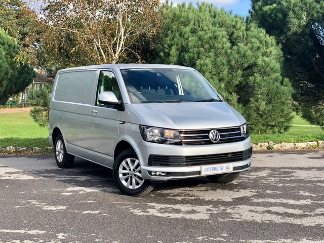USED 2016 16 VOLKSWAGEN TRANSPORTER 2.0 T28 TDI HIGHLINE BMT T6 Long MOT Oct 2021 | T6 | A/C