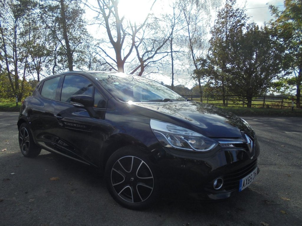 USED 2016 65 RENAULT CLIO 0.9 DYNAMIQUE NAV TCE 5d 89 BHP