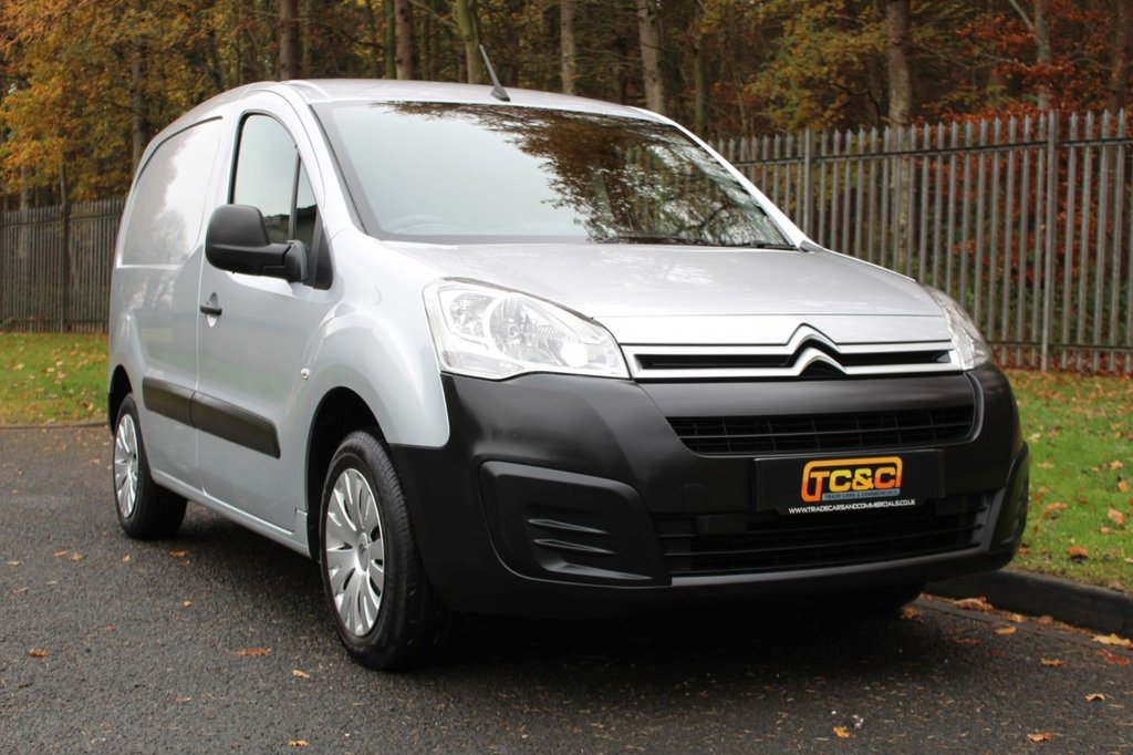 USED 2016 66 CITROEN BERLINGO 1.6 625 ENTERPRISE L1 HDI 74 BHP A VERY CLEAN LOW OWNER BERLINGO WITH NO VAT AND A FULL SERVICE HISTORY!!!