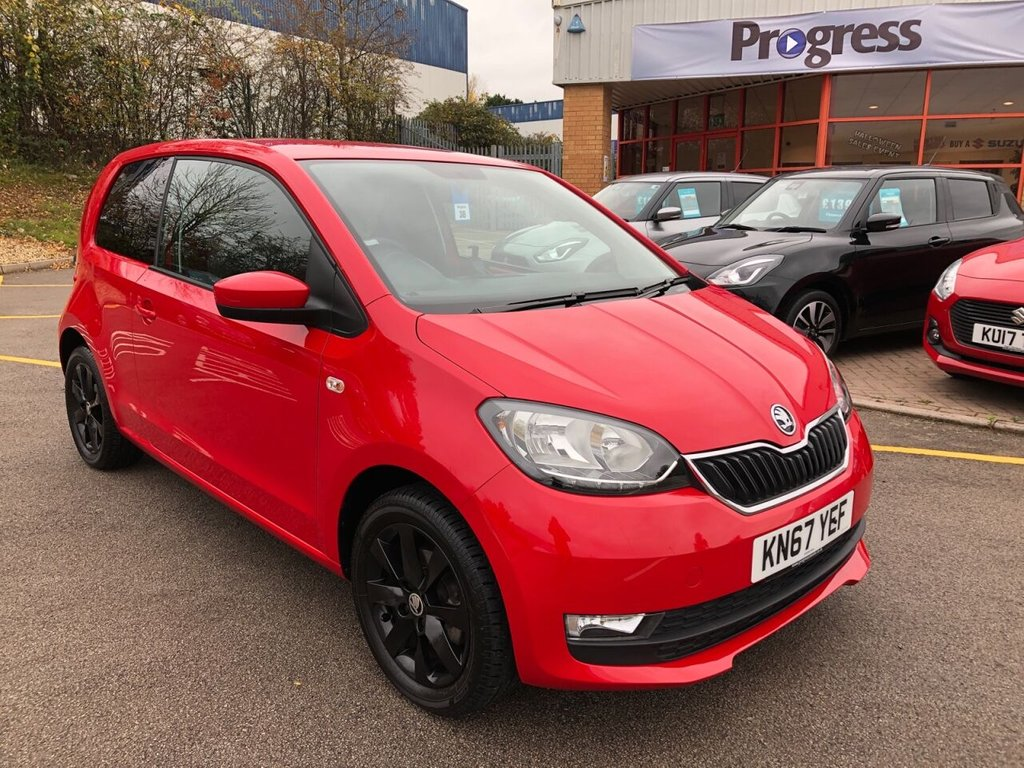 USED 2018 67 SKODA CITIGO 1.0 COLOUR EDITION MPI 3d 59 BHP
