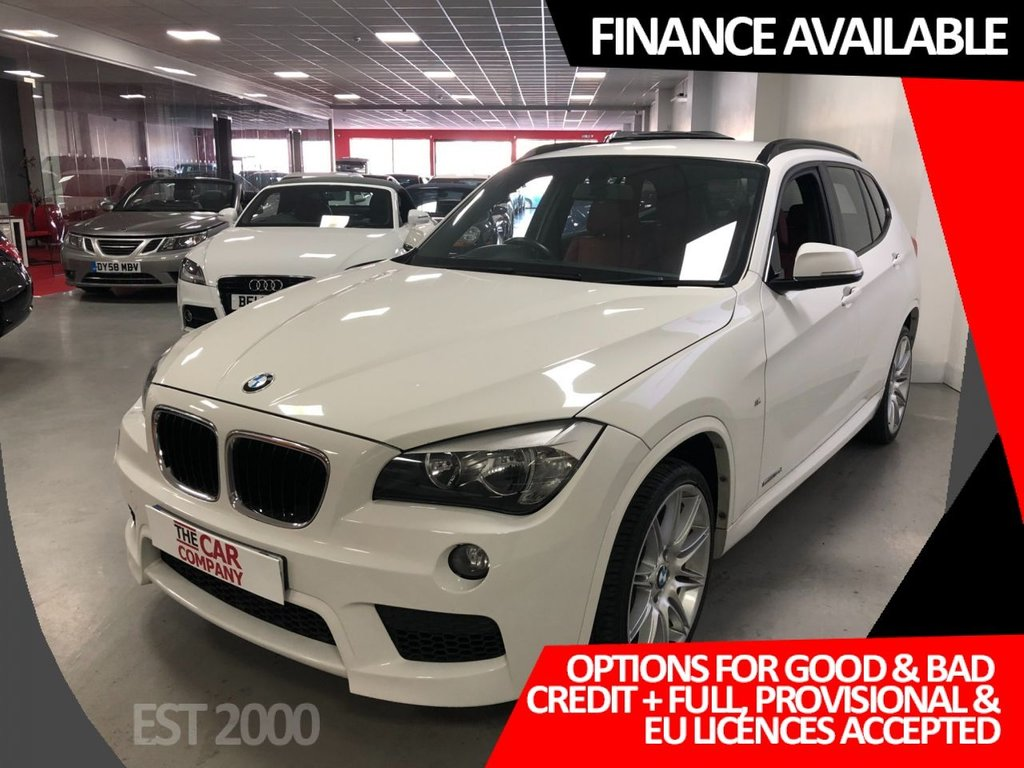 USED 2013 63 BMW X1 2.0 SDRIVE18D M SPORT 5d 141 BHP * 19 INCH ALLOYS * AIR CON *  * 8 SERVICE STAMPS * OCT 21 MOT *