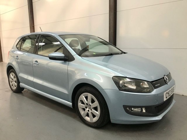 2012 12 VOLKSWAGEN POLO 1.2 BLUEMOTION TDI 5d 74 BHP