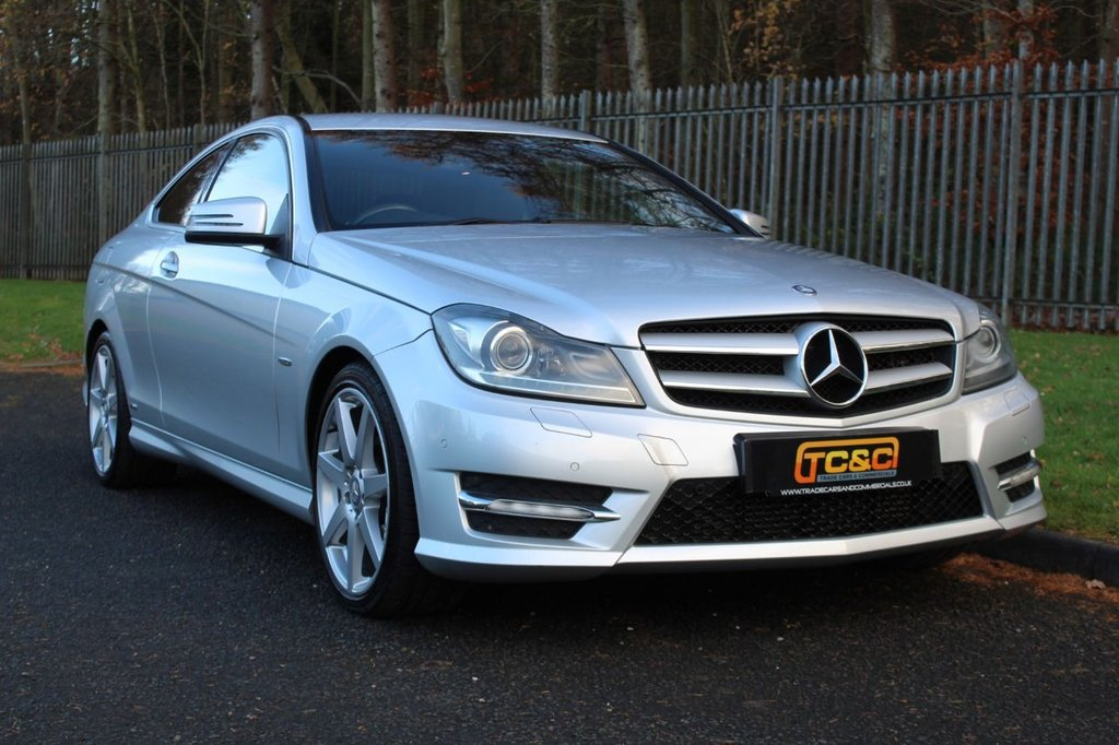 USED 2012 12 MERCEDES-BENZ C-CLASS 2.1 C220 CDI BLUEEFFICIENCY AMG SPORT 2d 170 BHP A STUNNING C220 COUPE WITH A COMPREHENSIVE SERVICE HISTORY!!!