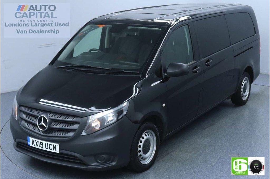USED 2019 19 MERCEDES-BENZ VITO 2.1 114 Bluetec Tourer Pro 136 BHP X-LWB Minibus Low Emission 9 Seats | Air Con | Reversing camera