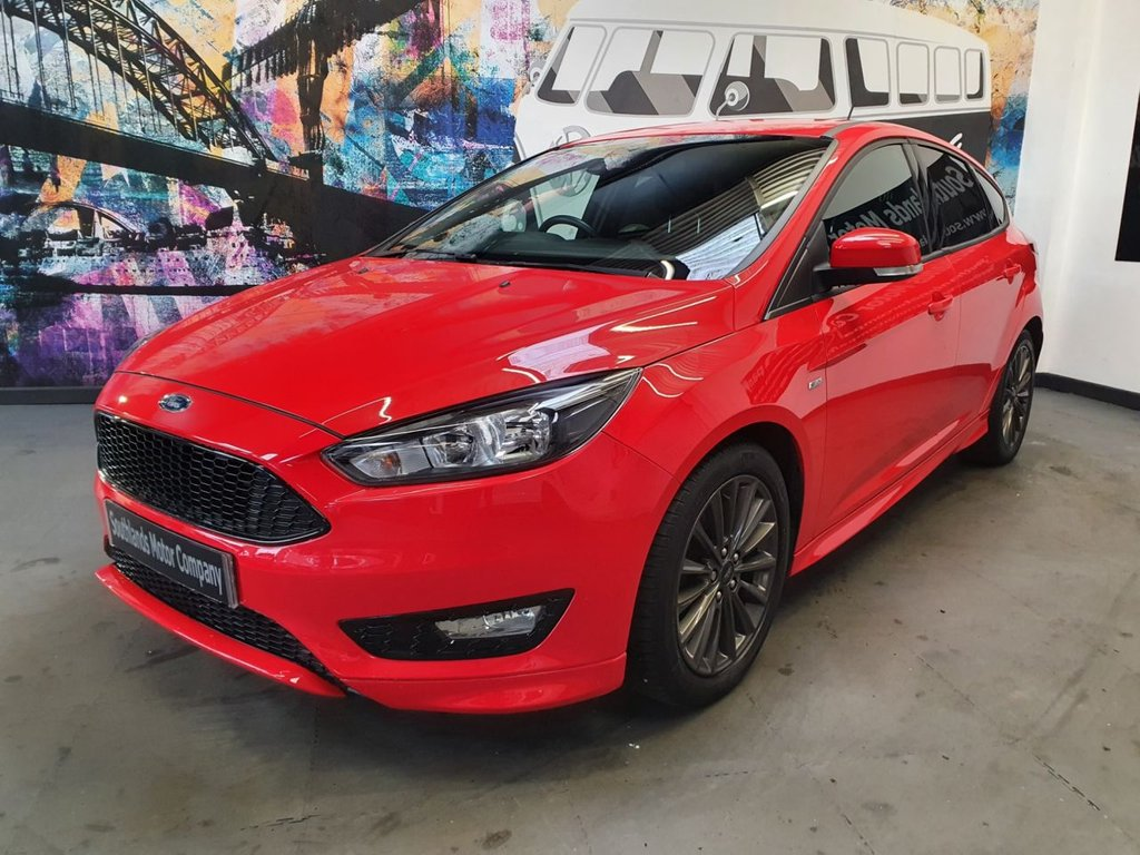 USED 2018 67 FORD FOCUS 1.5 ST-LINE 5d 148 BHP