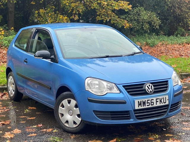 USED 2006 56 VOLKSWAGEN POLO 1.2 E 3d 54 BHP GREAT VALUE FOR MONEY STARTER CAR