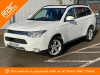USED 2013 13 MITSUBISHI OUTLANDER 2.3 DI-D GX 5 5d 147 BHP SAT NAV-FULL LEATHER + MORE