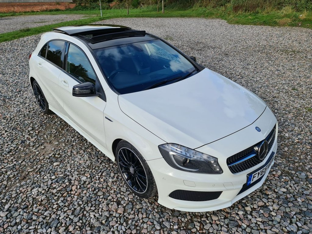 USED 2015 65 MERCEDES-BENZ A-CLASS 2.1 A220 CDI AMG NIGHT EDITION 5d 168 BHP
