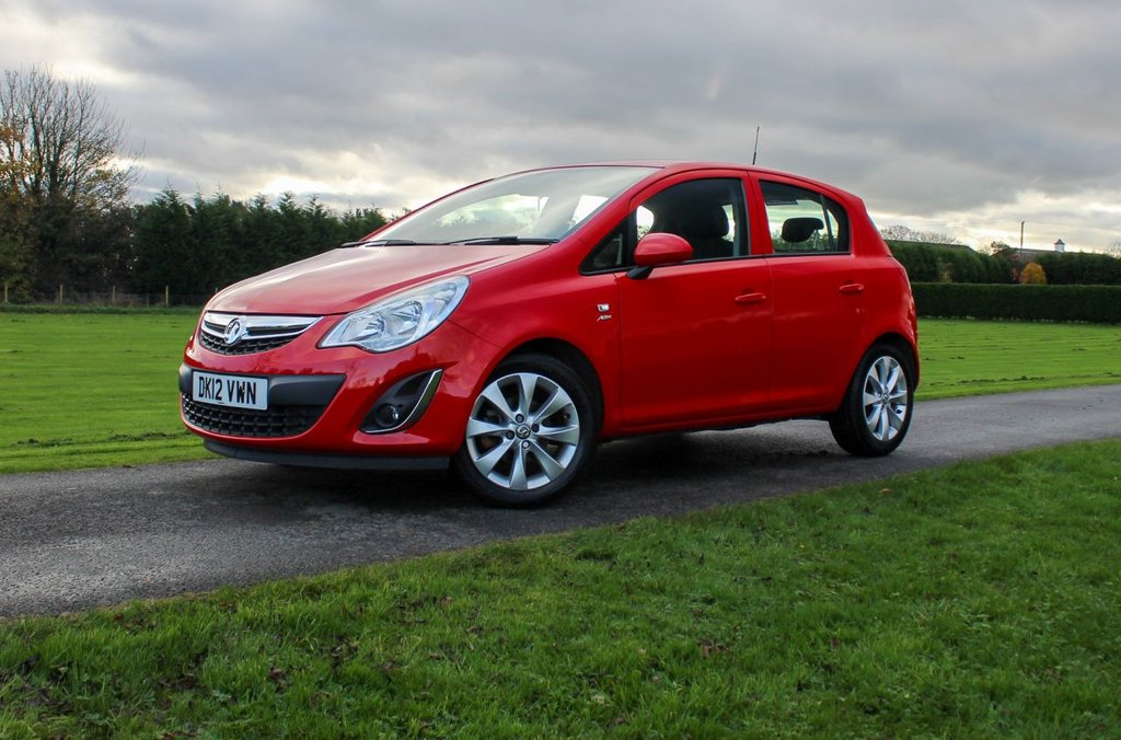 USED 2012 12 VAUXHALL CORSA 1.2 ACTIVE AC 5d 83 BHP