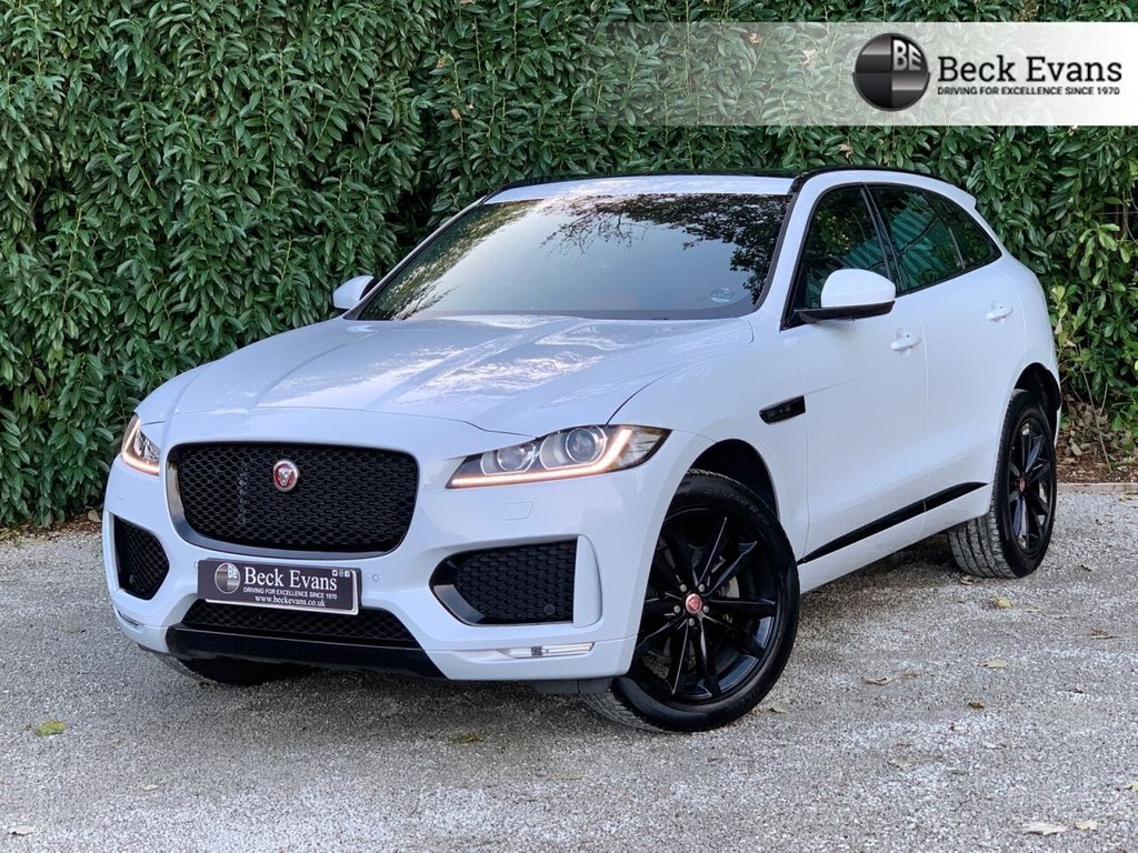 USED 2019 19 JAGUAR F-PACE 2.0 CHEQUERED FLAG AWD 5d 178 BHP PANORAMIC SUNROOF