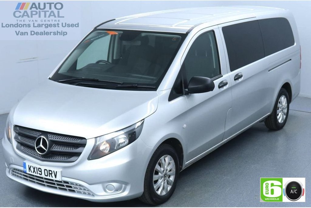 USED 2019 19 MERCEDES-BENZ VITO 2.1 114 Bluetec Tourer Select 136 BHP X-LWB Auto Minibus Finance Packages Available   9 Seats   Air Con   Reversing camera