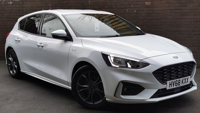 USED 2018 68 FORD FOCUS 1.0 ST-LINE 5d 124 BHP