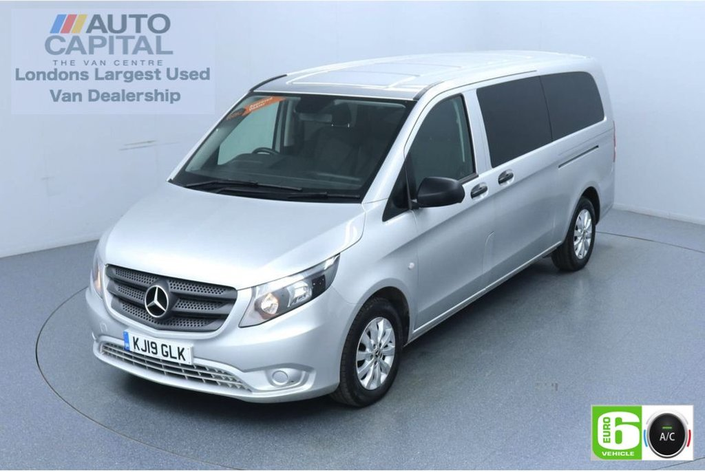 USED 2019 19 MERCEDES-BENZ VITO 2.1 114 Bluetec Tourer Select 136 BHP X-LWB Auto Minibus Finance Packages Available | 9 Seats | Air Con | Reversing camera