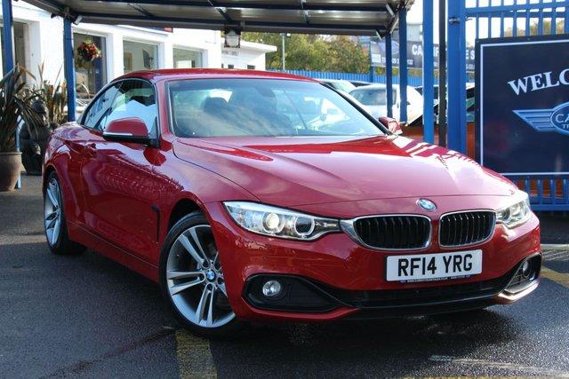 2014 59 BMW 4 SERIES 2.0 428I SPORT 2d 242 BHP