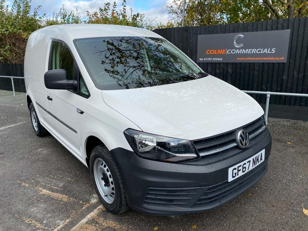 USED 2017 67 VOLKSWAGEN CADDY 2.0 TDI C20 BlueMotion Tech Startline EU6 (s/s) 5dr **EURO 6**AIR CONDITIONING**