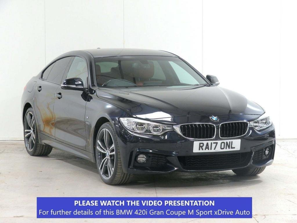USED 2017 17 BMW 4 SERIES 2.0 420i M Sport Gran Coupe xDrive 5dr £7.6k XTRA*PLUS*CAM*ADAPT-LED