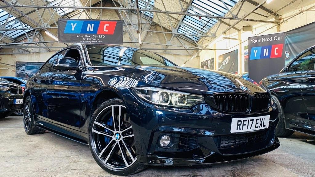USED 2017 17 BMW 4 SERIES 3.0 435d M Sport Gran Coupe Sport Auto xDrive (s/s) 5dr PERFORMANCEKIT+DIGDASH+REVCAM+