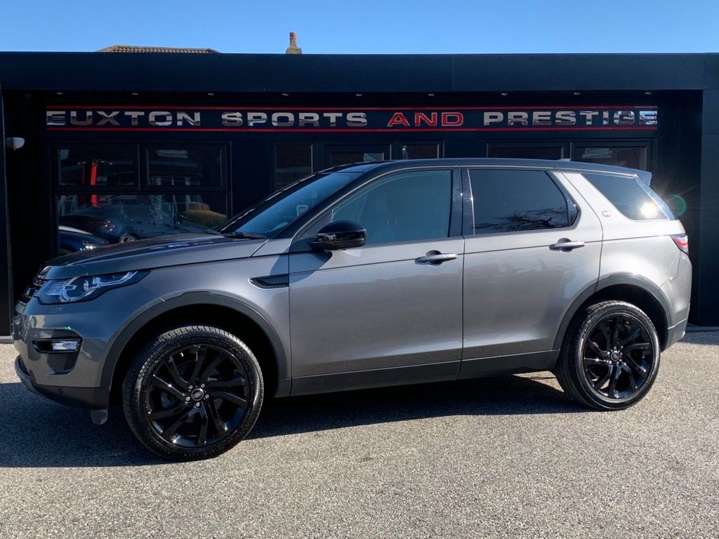USED 2018 68 LAND ROVER DISCOVERY SPORT 2.0 Si4 HSE Auto 4WD (s/s) 5dr 7 SEATER