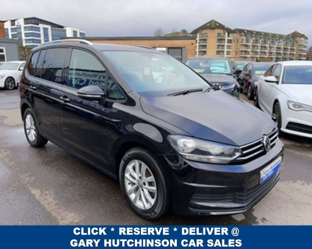 USED 2017 VOLKSWAGEN TOURAN 1.6 SE TDI BLUEMOTION TECHNOLOGY 5d 114 BHP