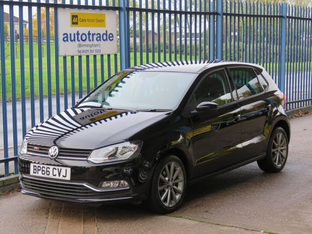 USED 2016 66 VOLKSWAGEN POLO 1.2 MATCH EDITION TSI 5d 89 BHP DAB, BLUETOOTH, USB AND AUX IN, AIR CON, FRONT AND REAR PARKING SENSORS