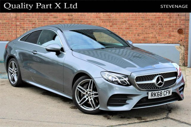 USED 2018 68 MERCEDES-BENZ E-CLASS 2.0 E220d AMG Line G-Tronic+ (s/s) 2dr BLUETOOTH,LED,CAMERA,SPORT