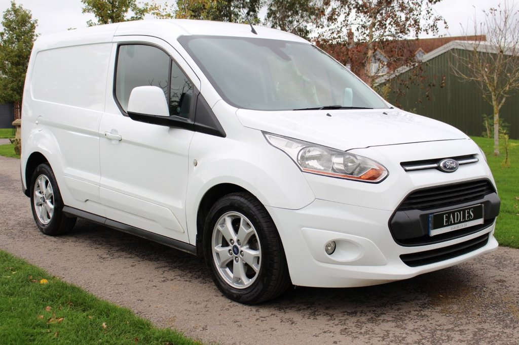 USED 2016 16 FORD TRANSIT CONNECT 1.6 200 LIMITED P/V 114 BHP NO VAT LIMITED TOP SPEC 12 MONTH MOT WARRANTY INCLUDED