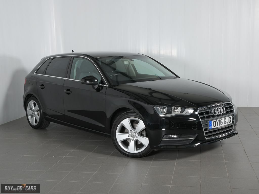 USED 2016 16 AUDI A3 1.4 TFSI SPORT NAV 5d 124 BHP Call us for Finance and Delivery options