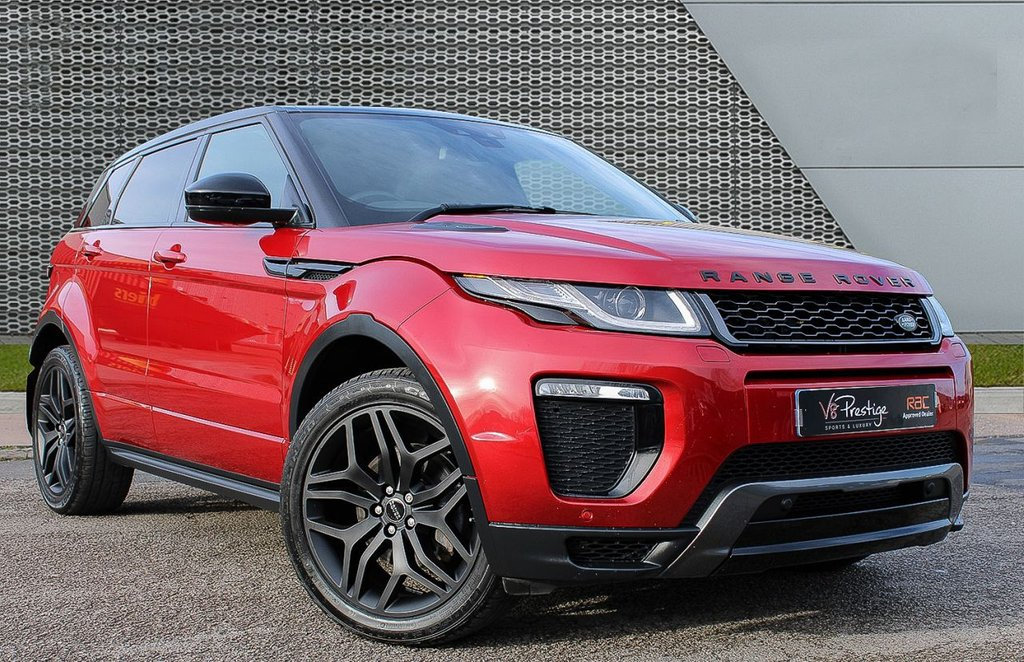 USED 2017 17 LAND ROVER RANGE ROVER EVOQUE 2.0 TD4 HSE DYNAMIC 5d 177 BHP **PAN ROOF/BLACK PACK/HEATED S/W**