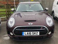 USED 2016 16 MINI CLUBMAN 2.0 COOPER SD 5d Family Estate AUTO with Massive High Spec and Great Colour Combo 1 Former Keeper