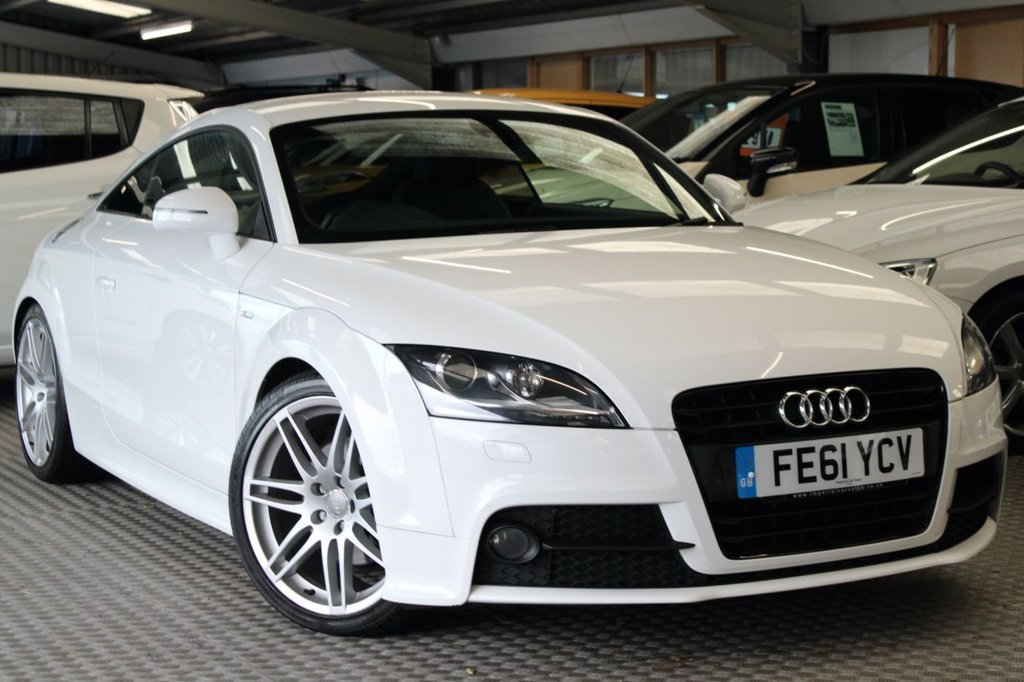 USED 2011 61 AUDI TT 2.0 TFSI BLACK EDITION 2d 208 BHP