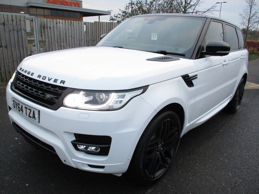 USED 2014 LAND ROVER RANGE ROVER SPORT 3.0 SDV6 HSE 5d 288 BHP