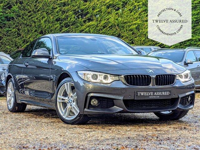 USED 2015 15 BMW 4 SERIES 3.0 430D XDRIVE M SPORT 2d 255 BHP (SUNROOF & NAV)