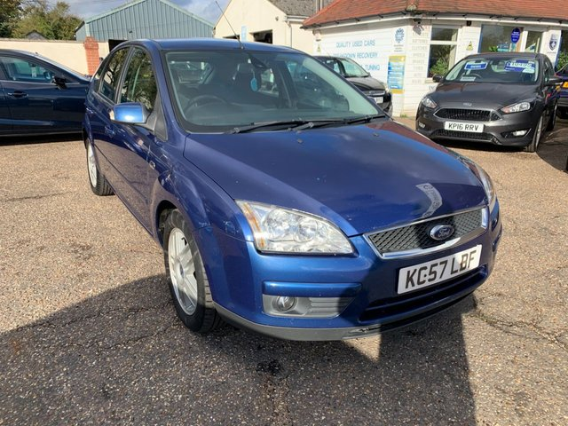 USED 2007 57 FORD FOCUS 1.8 GHIA TDCI 5d 114 BHP CAM BELT DONE JANUARY 2018