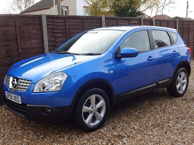 USED 2009 59 NISSAN QASHQAI 1.5 DCi ACENTA 5DOOR *2 OWNERS*ALLOYS*AIRCON*CRUISE*FULL HISTORY*