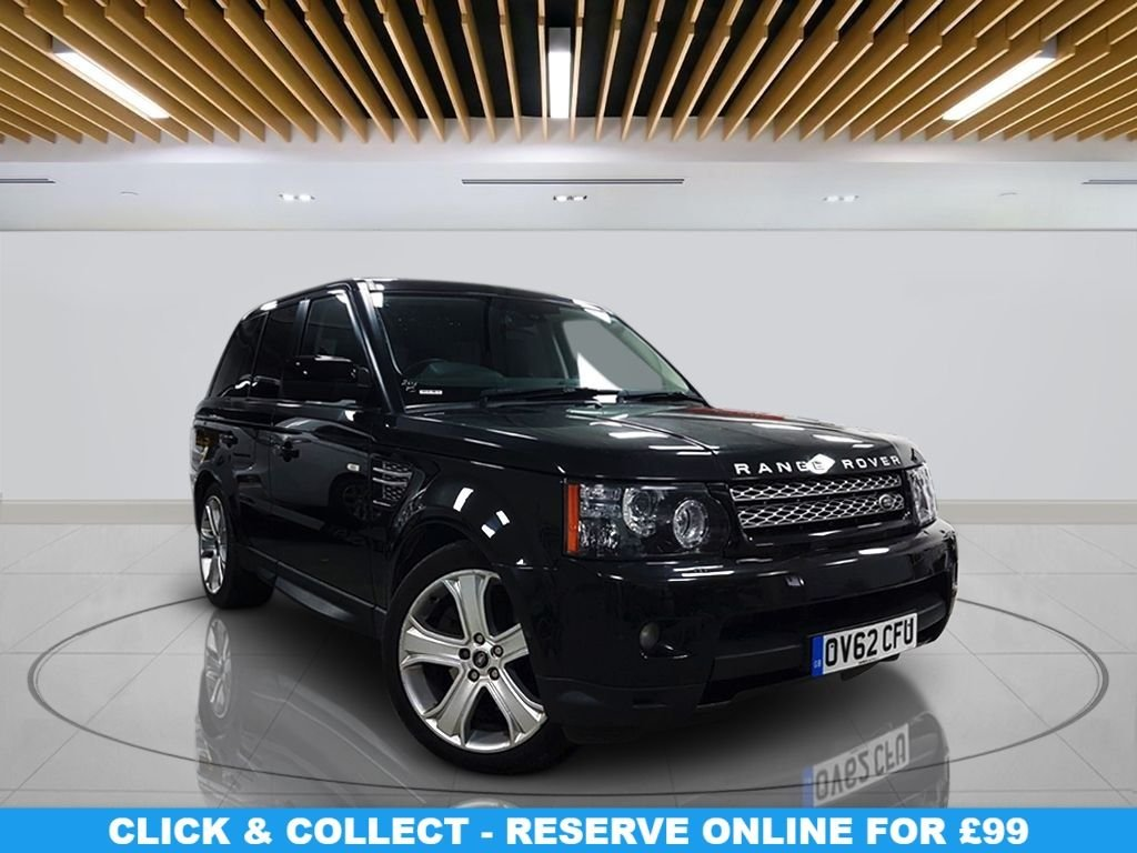 """USED 2012 62 LAND ROVER RANGE ROVER SPORT 3.0 SDV6 HSE LUXURY 5d 255 BHP Navigation System, Leather Seats, 21"""" Alloy Wheels, Parking Sensor(s), Climate Control"""