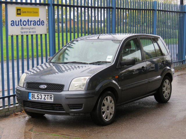USED 2003 53 FORD FUSION 1.4 FUSION 1 5d 78 BHP Central Locking, Driver and Passenger Airbags, Rear Child Proof Door Locks