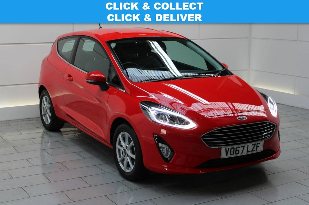 USED 2017 67 FORD FIESTA 1.1 Ti-VCT Zetec (start/stop)