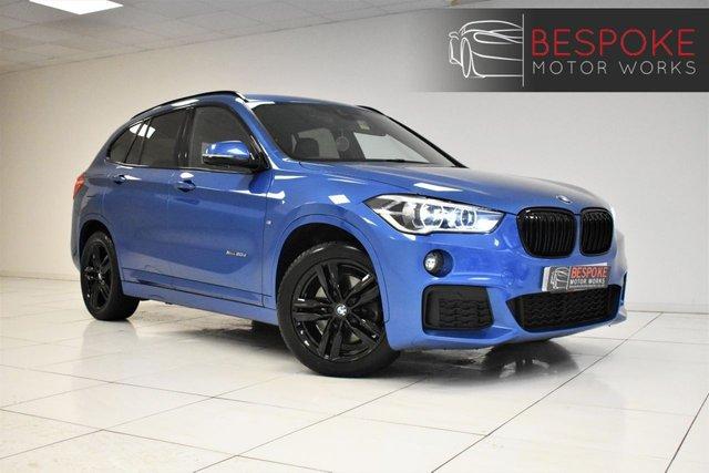 2018 18 BMW X1 XDRIVE20D 2.0 M SPORT 5 DOOR