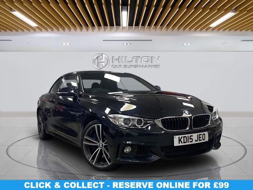 "USED 2015 15 BMW 4 SERIES 3.0 435D XDRIVE M SPORT 2d 309 BHP Navigation System, Leather Seats,18"" Alloy Wheels, Parking Sensor(s), Climate Control"
