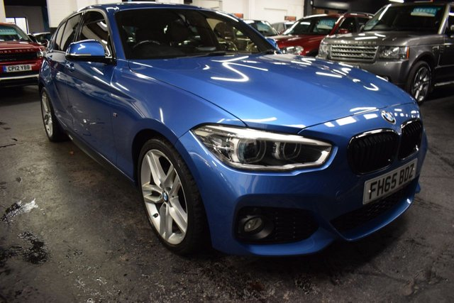 USED 2015 65 BMW 1 SERIES 1.5 116D M SPORT 5d 114 BHP AUTO M PERFORMANCE  STUNNING LOW MILEAGE EXAMPLE - LEATHER - SAT NAV - HEATED SEATS - 18 INCH ALLOY WHEELS - SUNROOF - REVERSE CAMERA