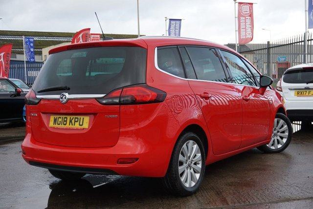 USED 2018 18 VAUXHALL ZAFIRA TOURER 1.4 ENERGY 5d 138 BHP GREAT LOW MILEAGE EXAMPLE