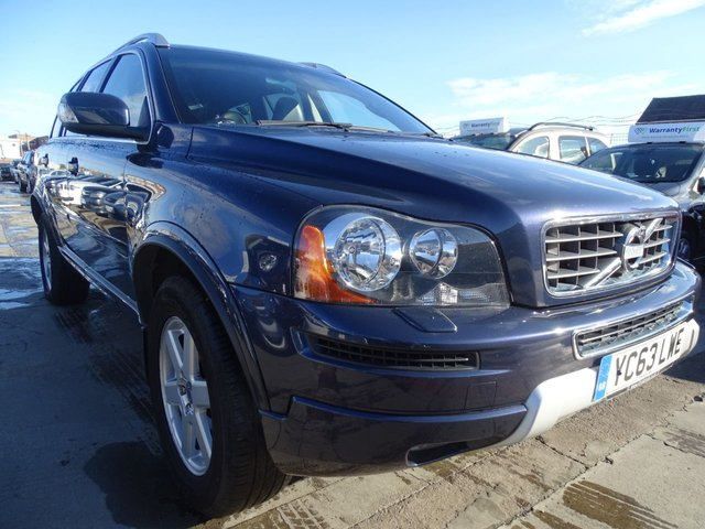 USED 2013 63 VOLVO XC90 2.4 D5 ES AWD BHP 7 SEATER AUTO 1 OWNER