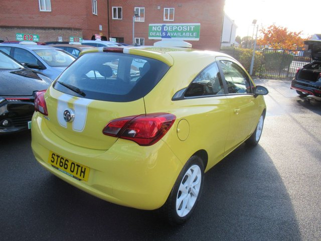 USED 2016 66 VAUXHALL CORSA 1.4 STING ECOFLEX 3d 74 BHP **  JUST ARRIVED **