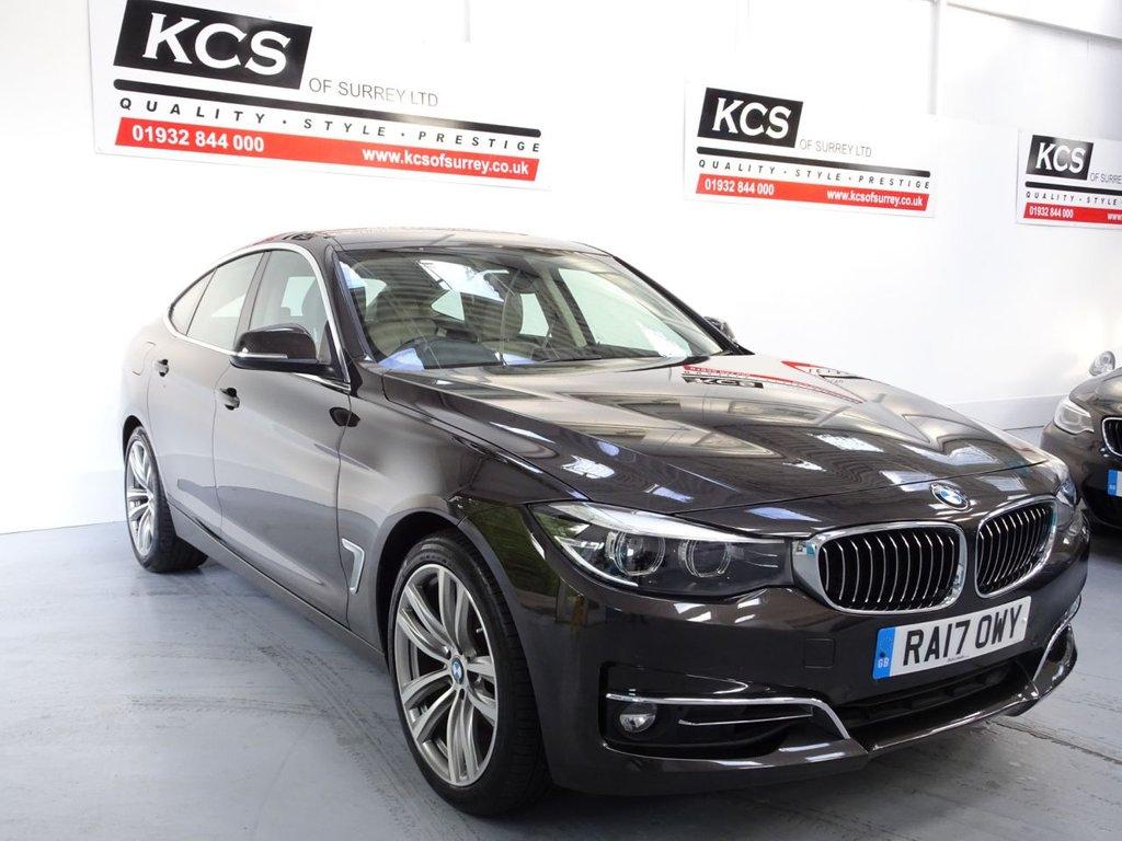 USED 2017 17 BMW 3 SERIES 2.0 330I LUXURY GRAN TURISMO 5d 248 BHP PRO NAV - ELEC SEATS - CAMERA