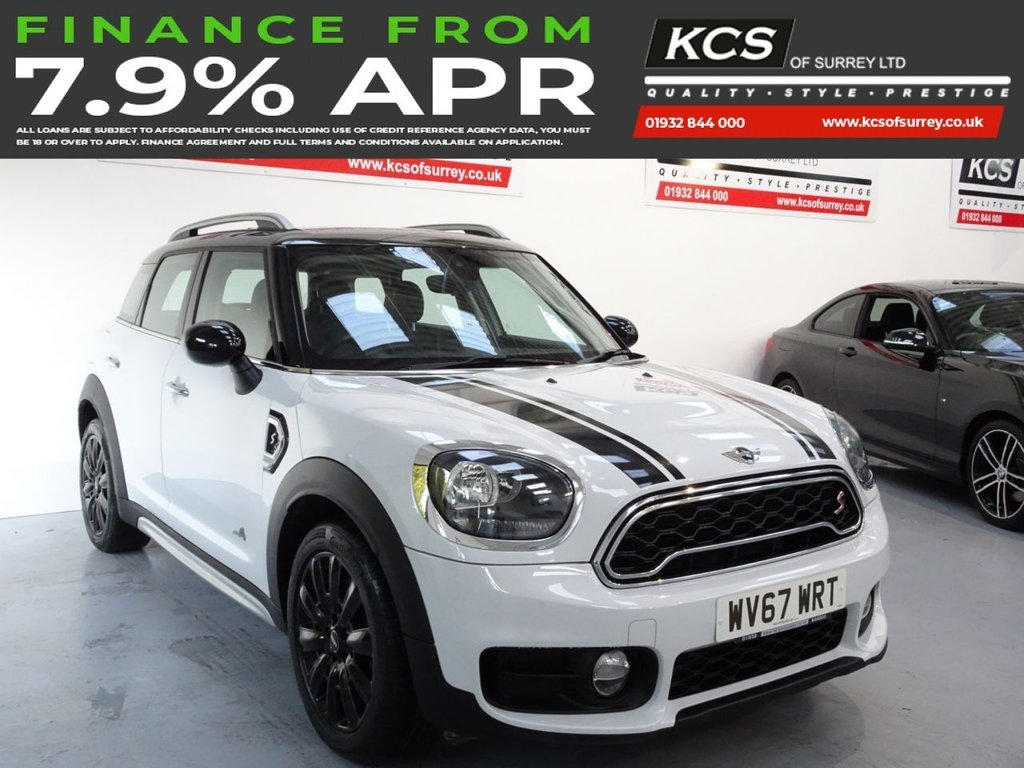 USED 2017 67 MINI COUNTRYMAN 2.0 COOPER S ALL4 5d 189 BHP ALL 4 - SAT NAV - HTD LEATHER