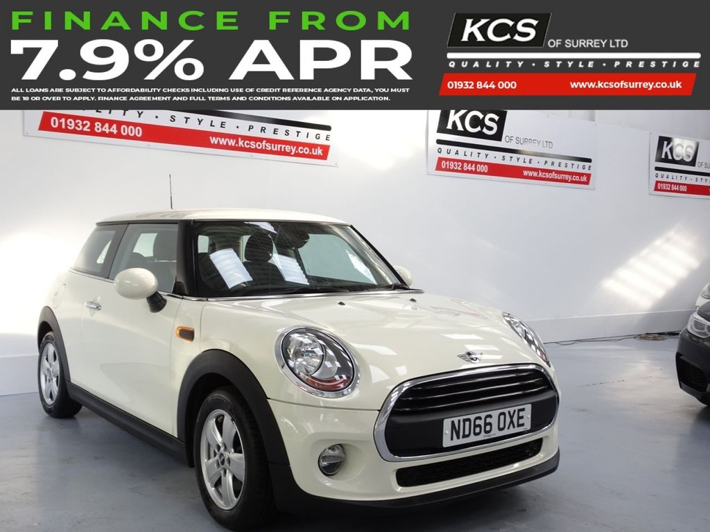 USED 2016 66 MINI HATCH ONE 1.2 ONE 3d 101 BHP PEPPER PACK - VISUAL BOOST