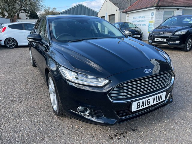 USED 2016 16 FORD MONDEO 2.0 TITANIUM TDCI 5d 148 BHP A VERY RARE 4WD