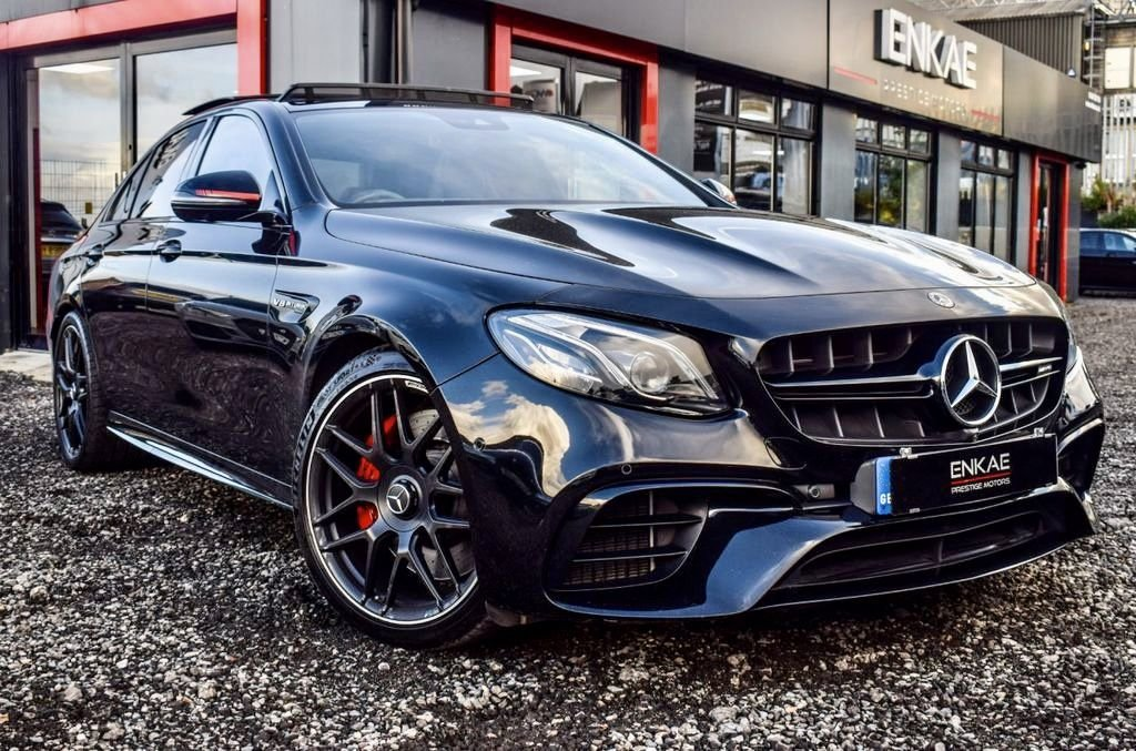 USED 2017 17 MERCEDES-BENZ E-CLASS 4.0 AMG E 63 S 4MATIC PREMIUM 4d 604 BHP VIEWING BY APPOINTMENT