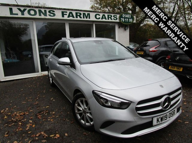 USED 2019 19 MERCEDES-BENZ B-CLASS 1.3 B 180 SPORT 5d 135 BHP Full Mercedes-Benz Service History (Just Serviced by Mercedes-Benz Gatwick), One Owner, Balance of Mercedes-Benz Warranty + MOT until April 2022, Automatic